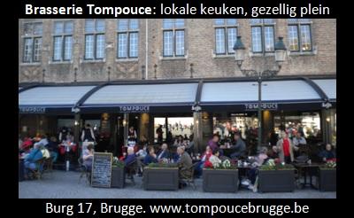 Tom puce in Brugge